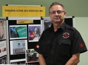 Mike Wiebe, Trauma Scene Bio Services